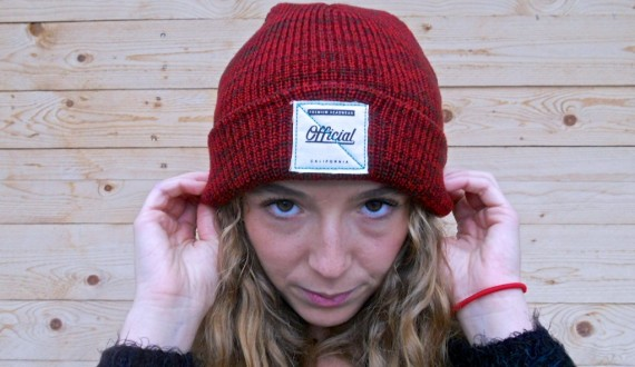 Official - Red Heather beanie
