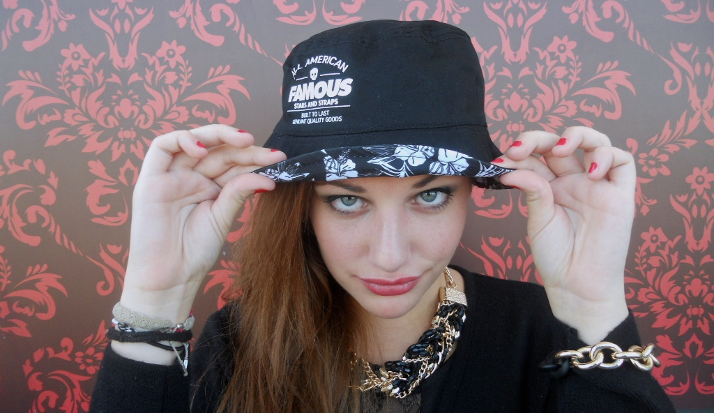 fbe6ceb1528 Famous Stars and Straps - Pipeline Reversible Bucket hat » the ...