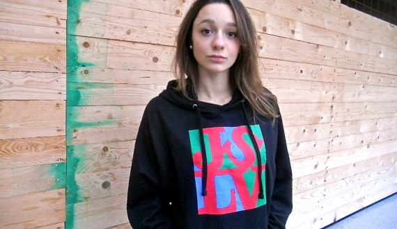JSLV - Love hoodie by Rough Distribution