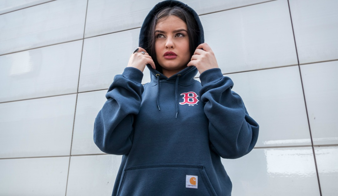 sports shoes 15f3d 633e7 Carhartt x '47 ○ Boston Red Sox Midweight Graphic Hoodie ...