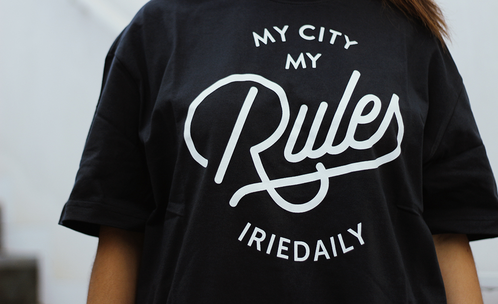 Iriedaily - My City Typo t-shirt