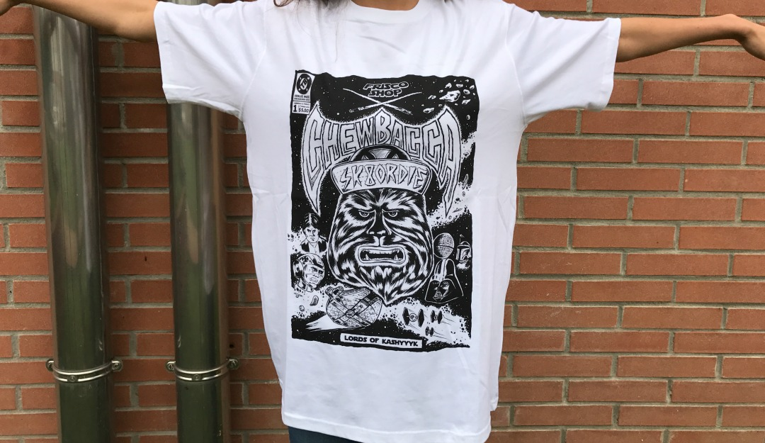 Frisco Shop x Thunderbeard x Dickies - Chewbecca t-shirt